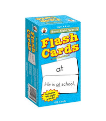 Basic Sight Words Flash Cards (Grade 1-3)