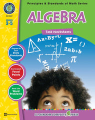 Algebra - Task Sheets (Grades 3-5) - Download Only