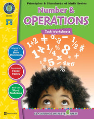 Number & Operations - Task Sheets (Grades 3-5) - Download Only