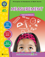 Measurement - Task Sheets (PreK to Grade 2) - Download Only