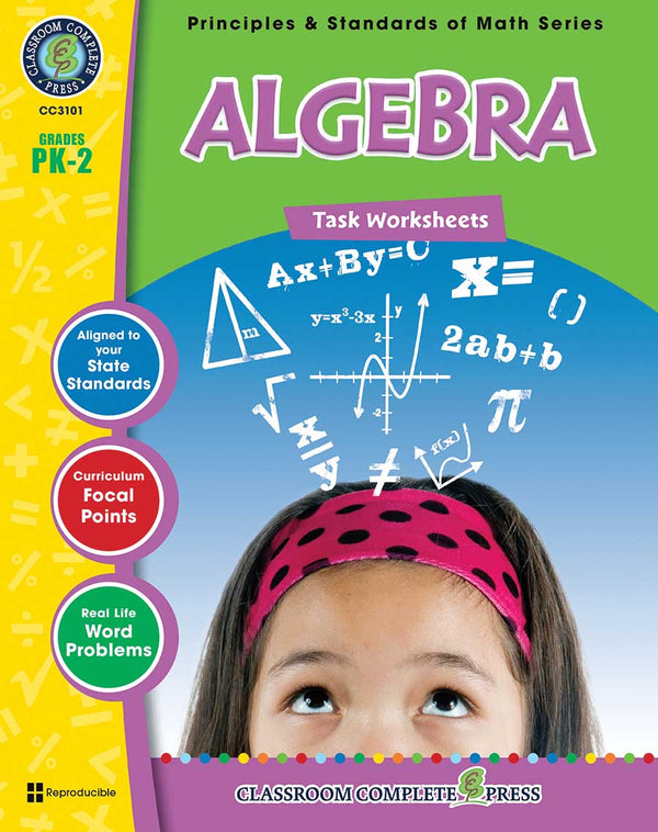 Algebra - Task Sheets (PreK-Grade 2) - Download Only