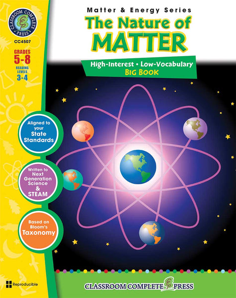 The Nature of Matter - Big Book (Grades 5-8) - Download Only