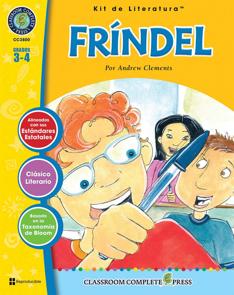 Frindel Literature Kit (Grade3-4) - Spanish Version - Download Only