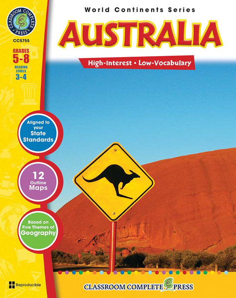 Australia (Grades 5-8) - Download Only