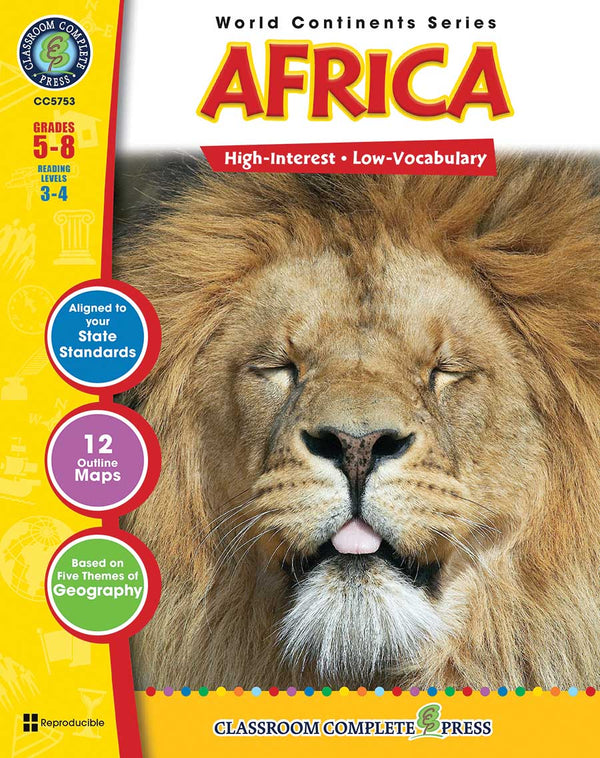 Africa (Grades 5-8) - Download Only