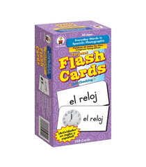 Everyday Words in Spanish: Photographic Flash Cards (Grade PK-8)