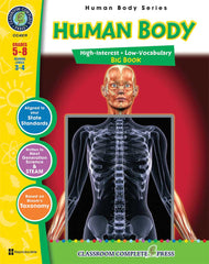 Human Body - Big Book (Grades 5-8) - Download Only
