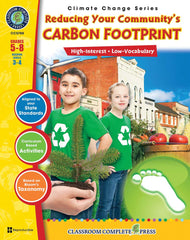 Reducing Your Communitys Carbon Footprint (Grades 5-8) - Download Only