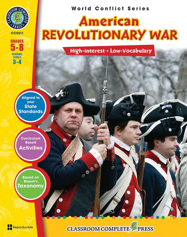 American Revolutionary War (Grades 5-8) - Download Only