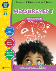 Measurement - Task Sheets (Grades 3-5) - Download Only