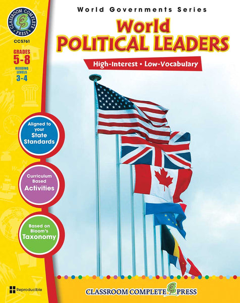 World Political Leaders (Grades 5-8) - Download Only
