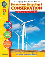 Prevention, Recycling & Conservation (Grades 5-8) - Download Only