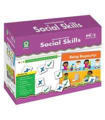 Social Skills File Folder Game (PreK-Grade 2)