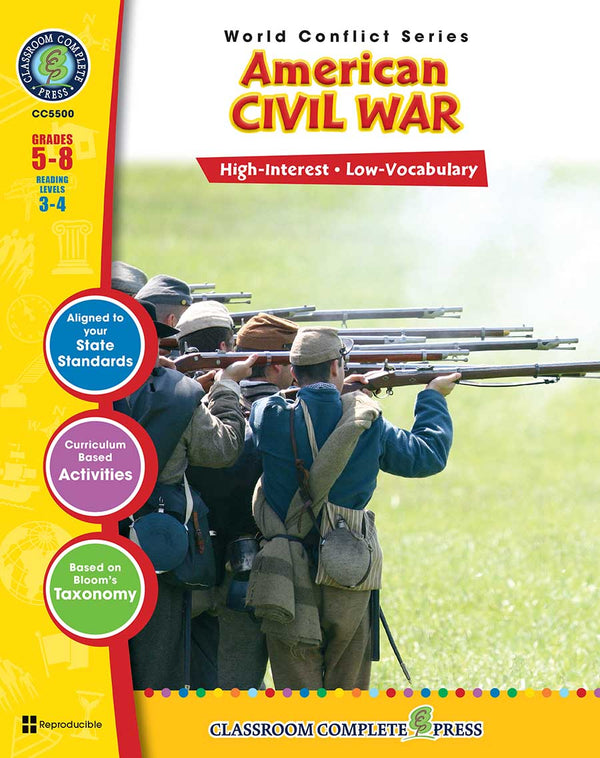 American Civil War (Grades 5-8) - Download Only