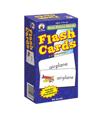 Basic Picture Words Flash Cards (Grade K-2)