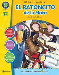 El Ratoncito de la Moto - Literature Kit (Grade 3-4) Spanish Version - Download Only
