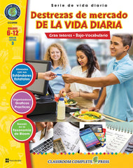 Destrezas de mercado de la vida diaria (Grade 6-12) - Spanish Version - Download Only