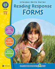 Reading Response Forms (Grades 1-2) - Download Only