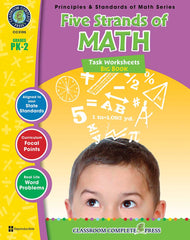 Five Strands of Math - Tasks Big Book (PreK-Grade 2) - Download Only