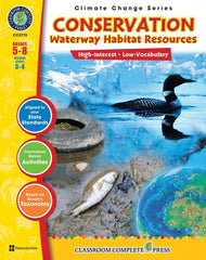 Conservation: Waterway Habitat Resources (Grades 5-8) - Download Only