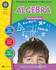 Algebra - Task Sheets (Grade 6-8) - Download Only
