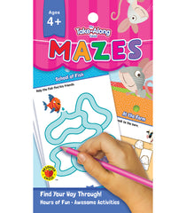 My Take-Along Tablet: Mazes Activity Pad (PreK)