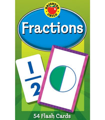 Fractions Flash Cards Grade 3-5