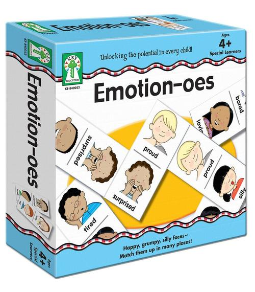 Emotion-oes Board Game (PreK-Grade 2)