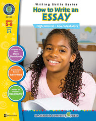 How to Write an Essay (Grades 5-8) - Download Only