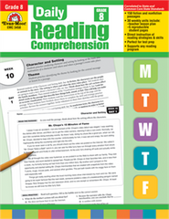 Daily Reading Comprehension Grade 8