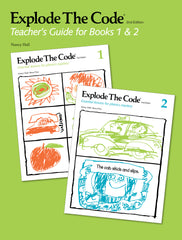 Explode The Code Teacher's Guide for Books 1 & 2 (2nd Edition)
