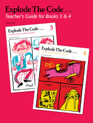 Explode The Code Teacher's Guide for Books 3 & 4 (2nd Edition)