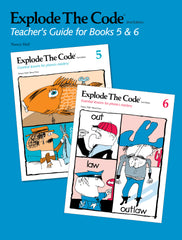 Explode The Code Teacher's Guide for Books 5 & 6 (2nd Edition)