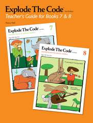 Explode The Code Teacher's Guide for Books 7 & 8 (2nd Edition)