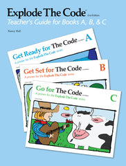 Explode The Code Teacher's Guide for Books A, B, & C (2nd Edition)