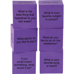 Foam Conversation Cubes