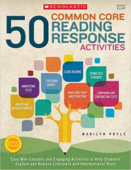 50 Common Core Reading Response Activities