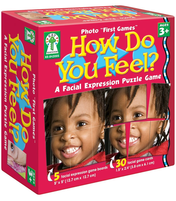 "Photo ""First Games"": How Do You Feel? Board Game Grade Toddler-K"