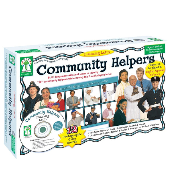 Community Helpers Board Game Grade PK-1