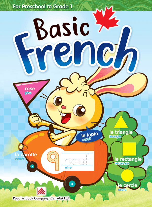 Smart Early Learning: Basic French Grades 1-2