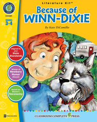 Because of Winn-Dixie (Grades 3-4) - Download Only