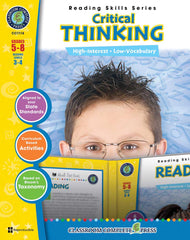 Critical Thinking (Grades 5-8) - Download Only
