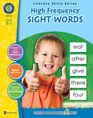 High Frequency Sight Words (Grades K-1) - Download Only