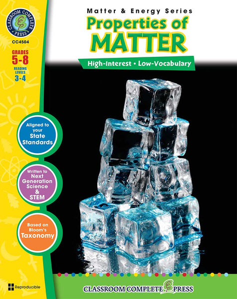 Properties of Matter (Grades 5-8)