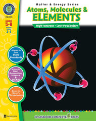Atoms, Molecules & Elements (Grades 5-8)