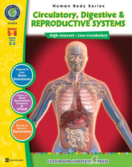 Circulatory, Digestive, Excretory & Reproductive Systems (Grades 5-8)
