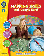 Mapping Skills with Google Earth (Grades 3-5)