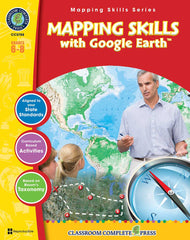 Mapping Skills with Google Earth (Grades 6-8)