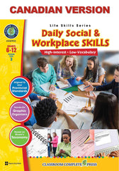 Daily Social & Workplace Skills - Canadian Content (Grades 6-12)