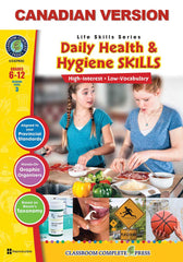 Daily Health & Hygiene Skills - Canadian Content (Grades 6-12)